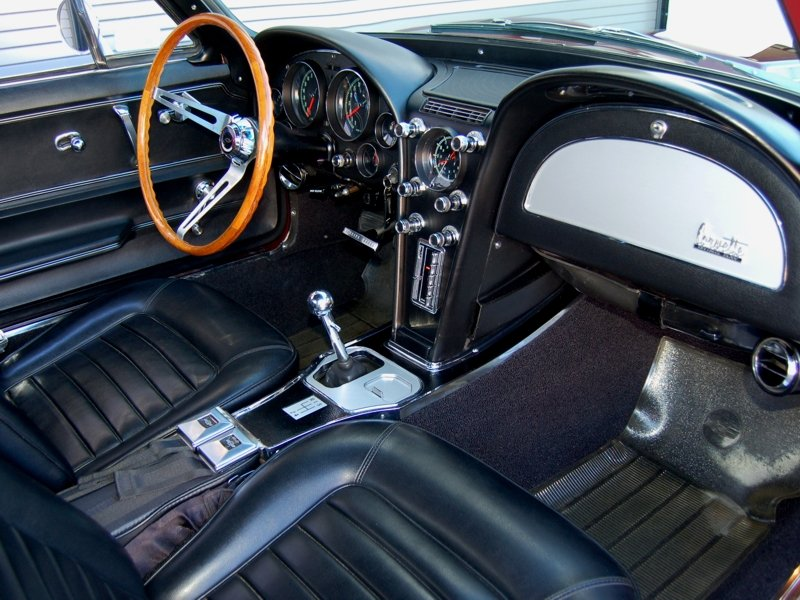 1966 427 Corvette 4 speed Air Coupe  in excellent condition For Sale (picture 5 of 6)