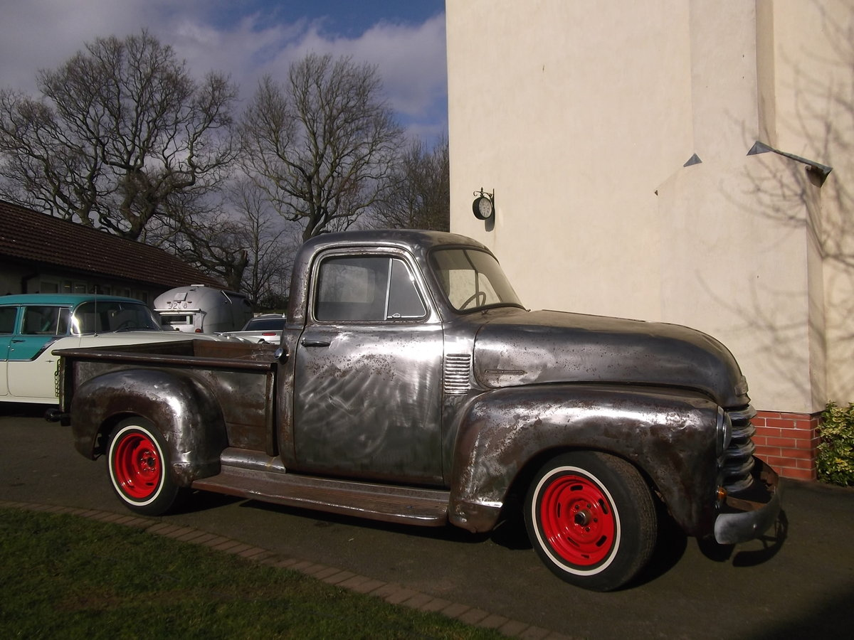 1954 Chevy Pick Up Truck, 305 V8, Automatic, Rat Rod SOLD (picture 2 of 6)