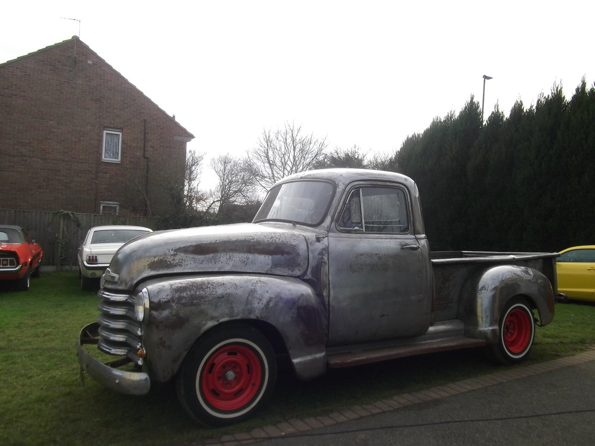 1954 Chevy Pick Up Truck, 305 V8, Automatic, Rat Rod SOLD (picture 4 of 6)