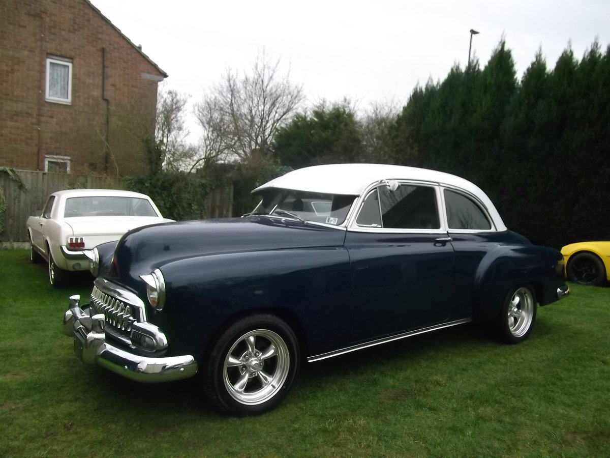 1951  Chevy StyleLine 2 dr,Coupe350 V8, Automatic, Power Steering SOLD (picture 2 of 6)