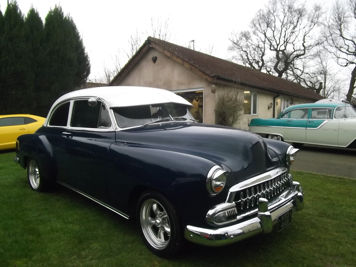 1951  Chevy StyleLine 2 dr,Coupe350 V8, Automatic, Power Steering SOLD (picture 5 of 6)