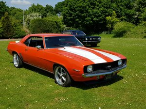 1969 Camaro 4 speed with a 400 cubic inch engine  For Sale