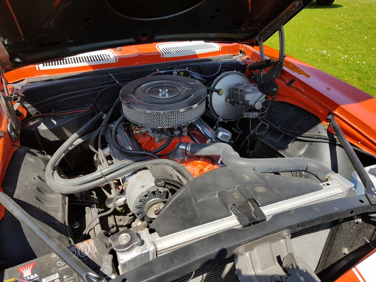 1969 Camaro 4 speed with a 400 cubic inch engine  For Sale (picture 5 of 6)