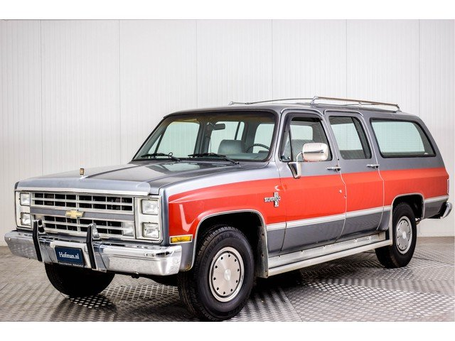 1986 Chevrolet Silverado Suburban 7.4 V8 For Sale (picture 1 of 6)