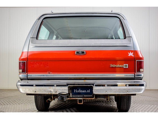 1986 Chevrolet Silverado Suburban 7.4 V8 For Sale (picture 4 of 6)