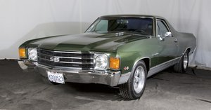 1972 Chevrolet El Camino SS = Fast 427 Auto Green $19.7k For Sale
