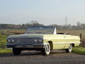 1963 Chevrolet Impala Convertible For Sale by Auction