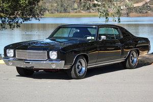 1970 Chevrolet Monte Carlo = 350+ auto Restored Black $49.5k For Sale
