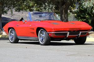 1963 Corvette Convertible = 327 4 speed 55k miles AC  $69k For Sale
