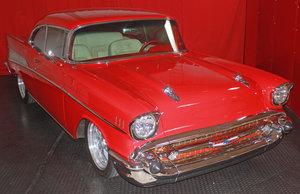 1957 Chevrolet Bel Air = Custom 350 Auto + Posi   $65.5k For Sale