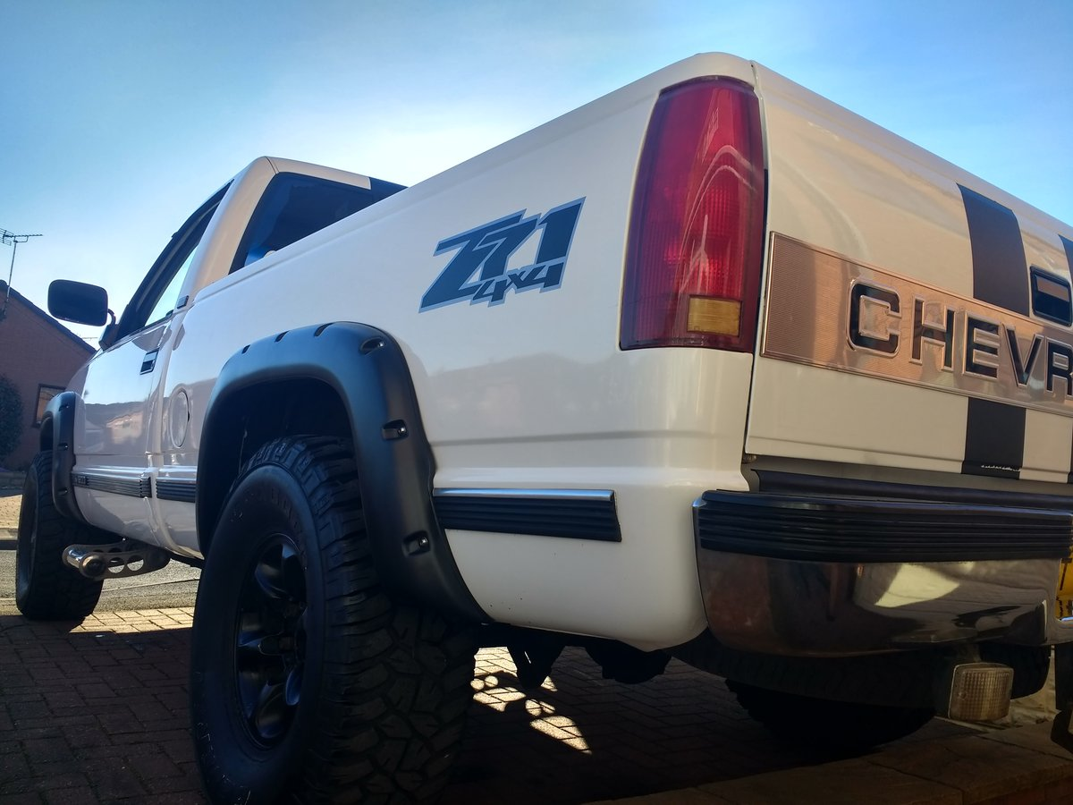 Chevy silverado -pickup-z71-1990-v8 5700cc beast. For Sale (picture 2 of 6)