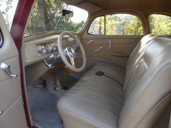 1939 Chevrolet Master 85 Coupe = Custom AC Air Ride $42.5k For Sale (picture 4 of 6)