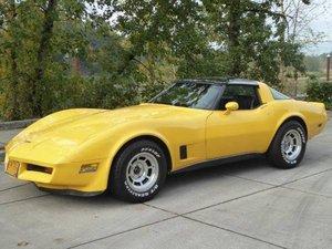 1980 Chevrolet Corvette Glass T-Top - 350 auto Yellow $11.5k For Sale