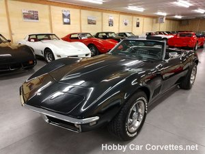 1968 Black Black Corvette Convertible For Sale For Sale