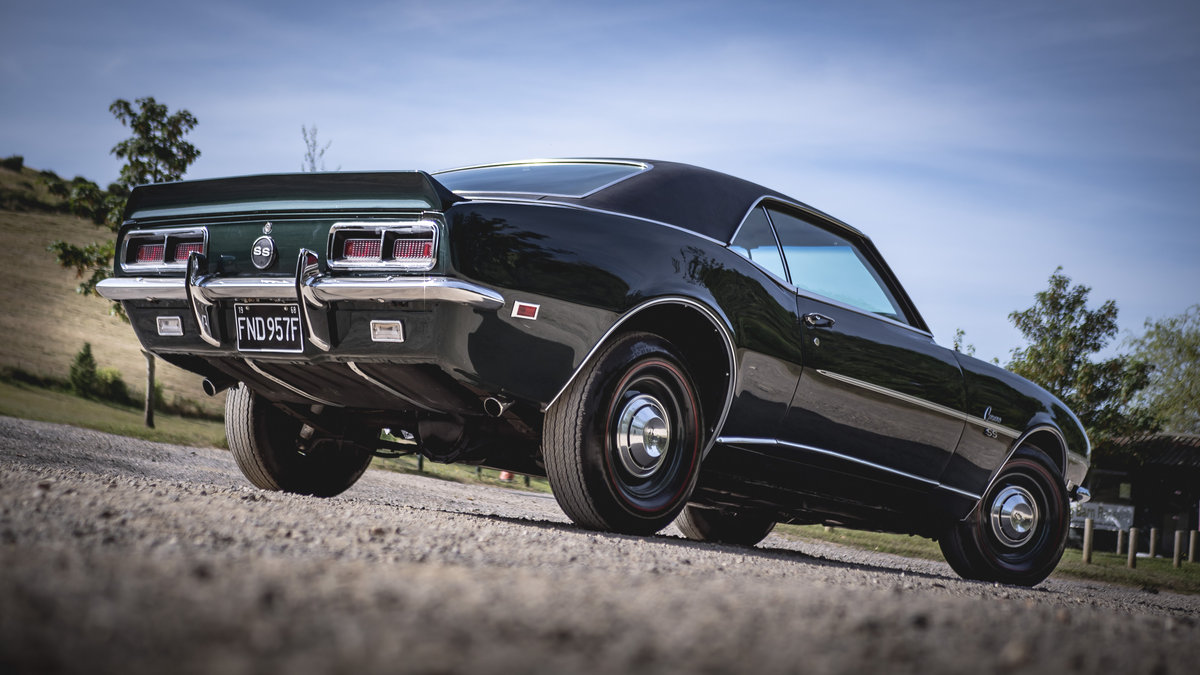 Fully Restored 1968 Chevrolet Camaro RS / SS L48 3 For Sale (picture 3 of 6)