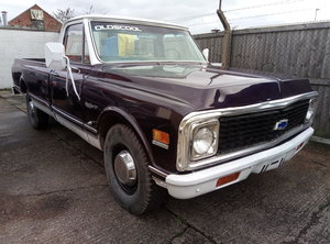 1971 CHEVY C20 PICK UP TRUCK V8 BIG BLOCK For Sale