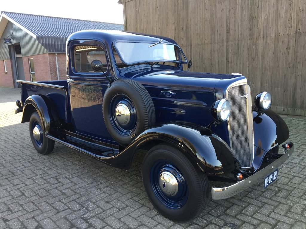 1936 Chevrolet Pick-Up , immaculate , fully restored 6 Cilinder For Sale (picture 1 of 6)