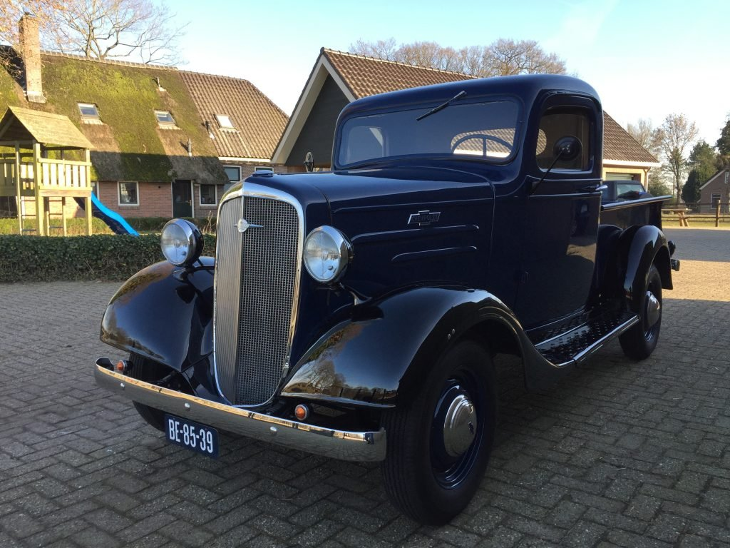 1936 Chevrolet Pick-Up , immaculate , fully restored 6 Cilinder For Sale (picture 6 of 6)
