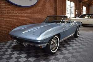 1964 Chevrolet Corvette Sting Ray Roadster = Blue Auto $69.5 For Sale