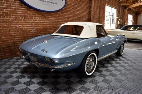 1964 Chevrolet Corvette Sting Ray Roadster = Blue Auto $69.5 For Sale (picture 3 of 6)