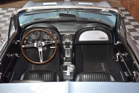 1964 Chevrolet Corvette Sting Ray Roadster = Blue Auto $69.5 For Sale (picture 4 of 6)
