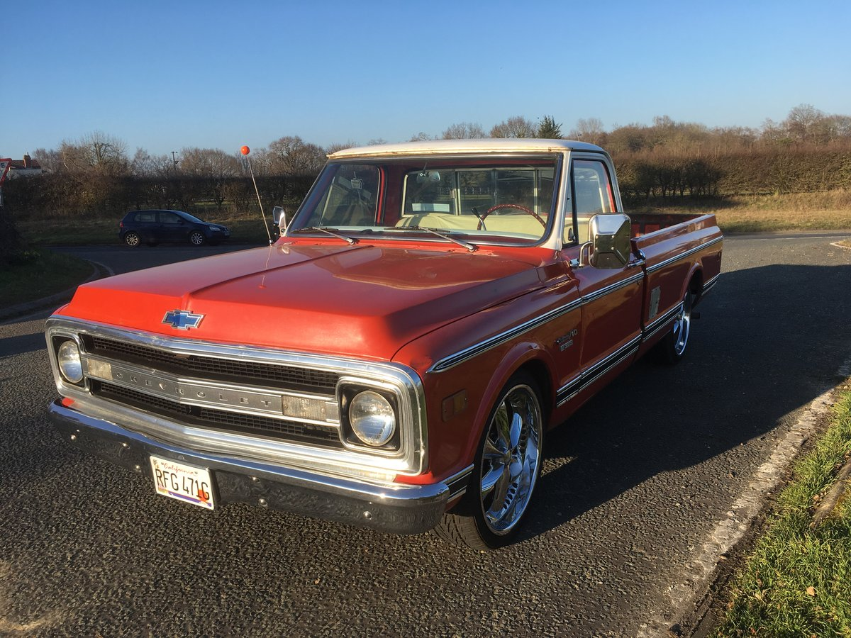 1969 chevrolet c-10 custom pick up For Sale (picture 1 of 6)