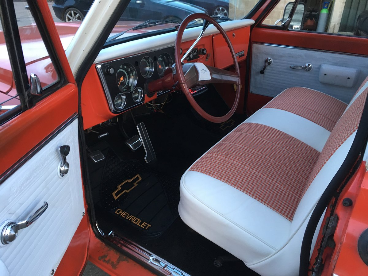1969 chevrolet c-10 custom pick up For Sale (picture 6 of 6)