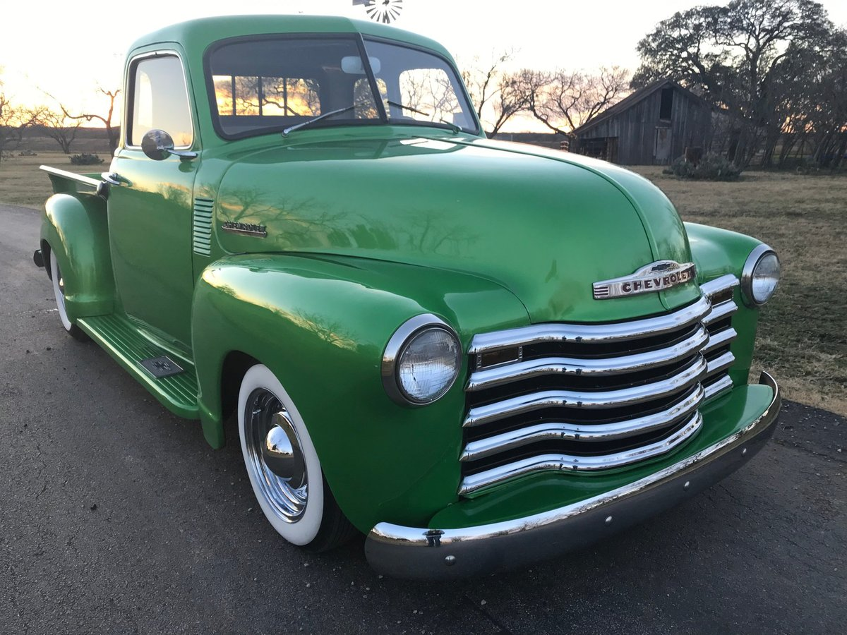 1950 Chevrolet 3100 5-W Pickup For Sale (picture 2 of 6)