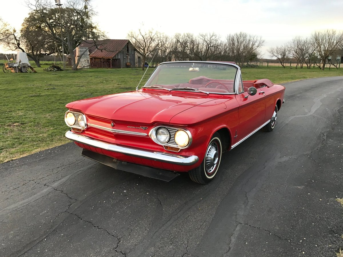 1963 Chevrolet Corvair Convertible For Sale (picture 1 of 6)