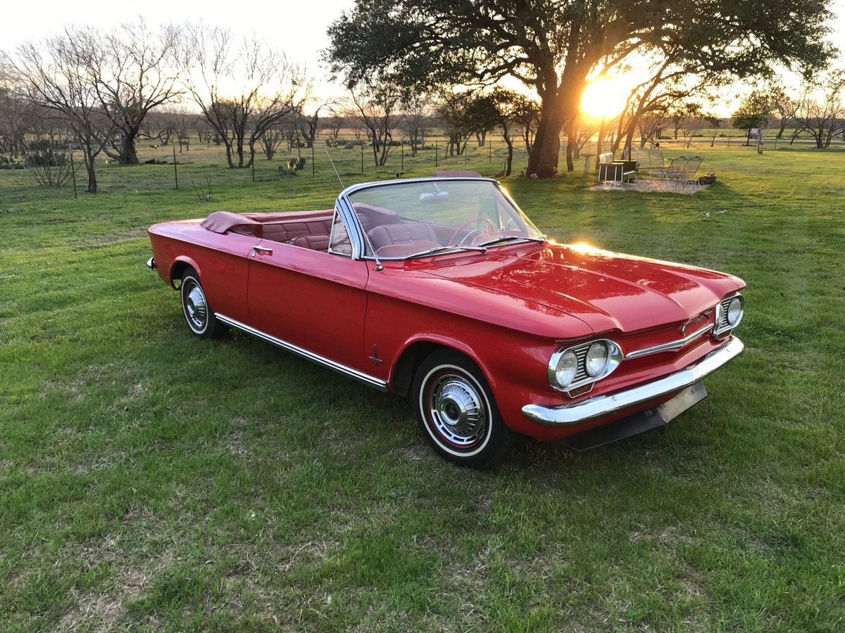 1963 Chevrolet Corvair Convertible For Sale (picture 2 of 6)