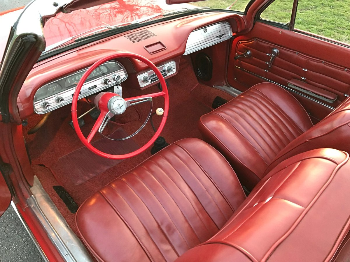 1963 Chevrolet Corvair Convertible For Sale (picture 4 of 6)