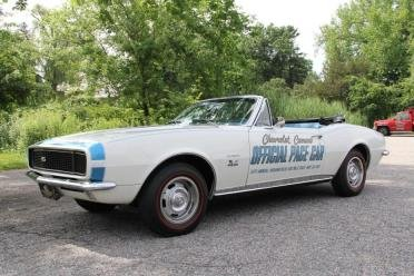 1967 chevy Camaro Pace Car Convertible = 396 Manual $84.9k For Sale