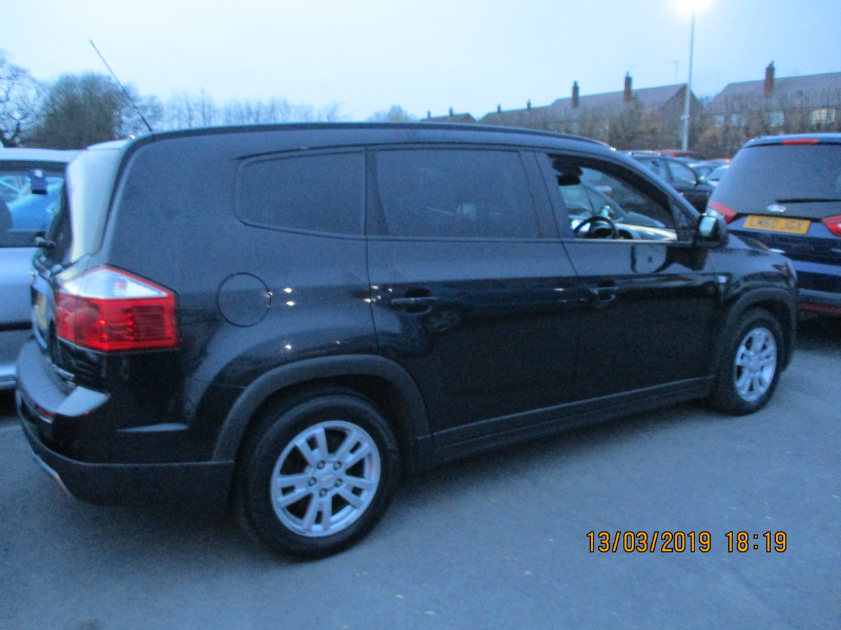 2012 DIESEL AUTO 7 SEAT CHEVROLET ORLANDO MPV NEW MOT NICE For Sale (picture 1 of 6)