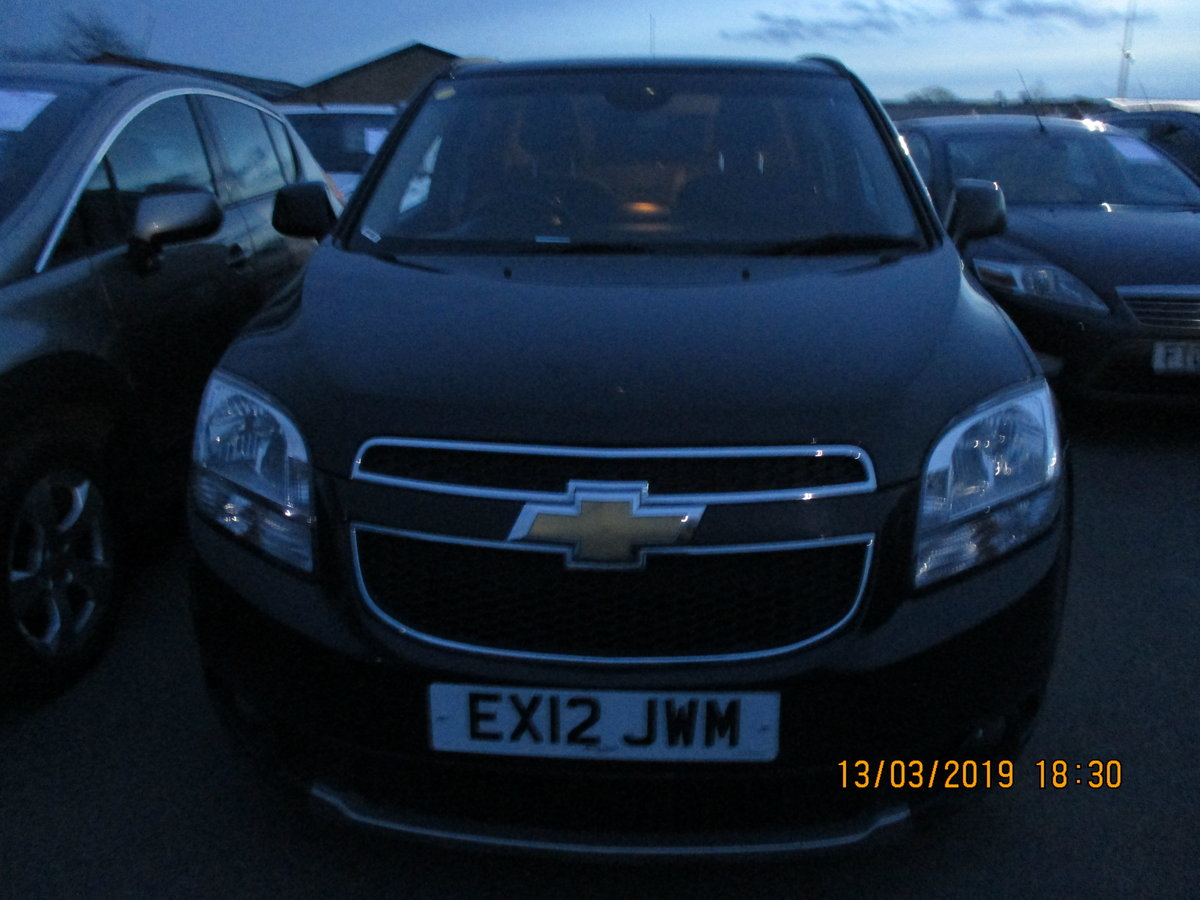 2012 DIESEL AUTO 7 SEAT CHEVROLET ORLANDO MPV NEW MOT NICE For Sale (picture 2 of 6)