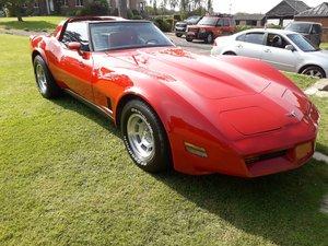 1980 Amazing red corvette c3 targa