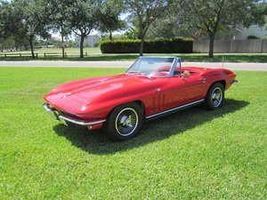 1965 Corvette Sting Ray Roadster = 327 4 speed AC $109.5   For Sale
