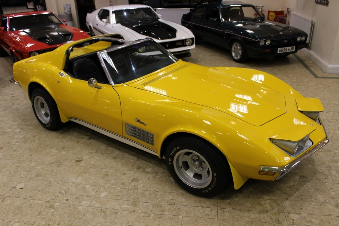 1972 Chevrolet Corvette Stingray 350 - 4-Speed Manual  SOLD (picture 1 of 6)
