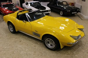 1972 Chevrolet Corvette Stingray 350 - 4-Speed Manual  SOLD