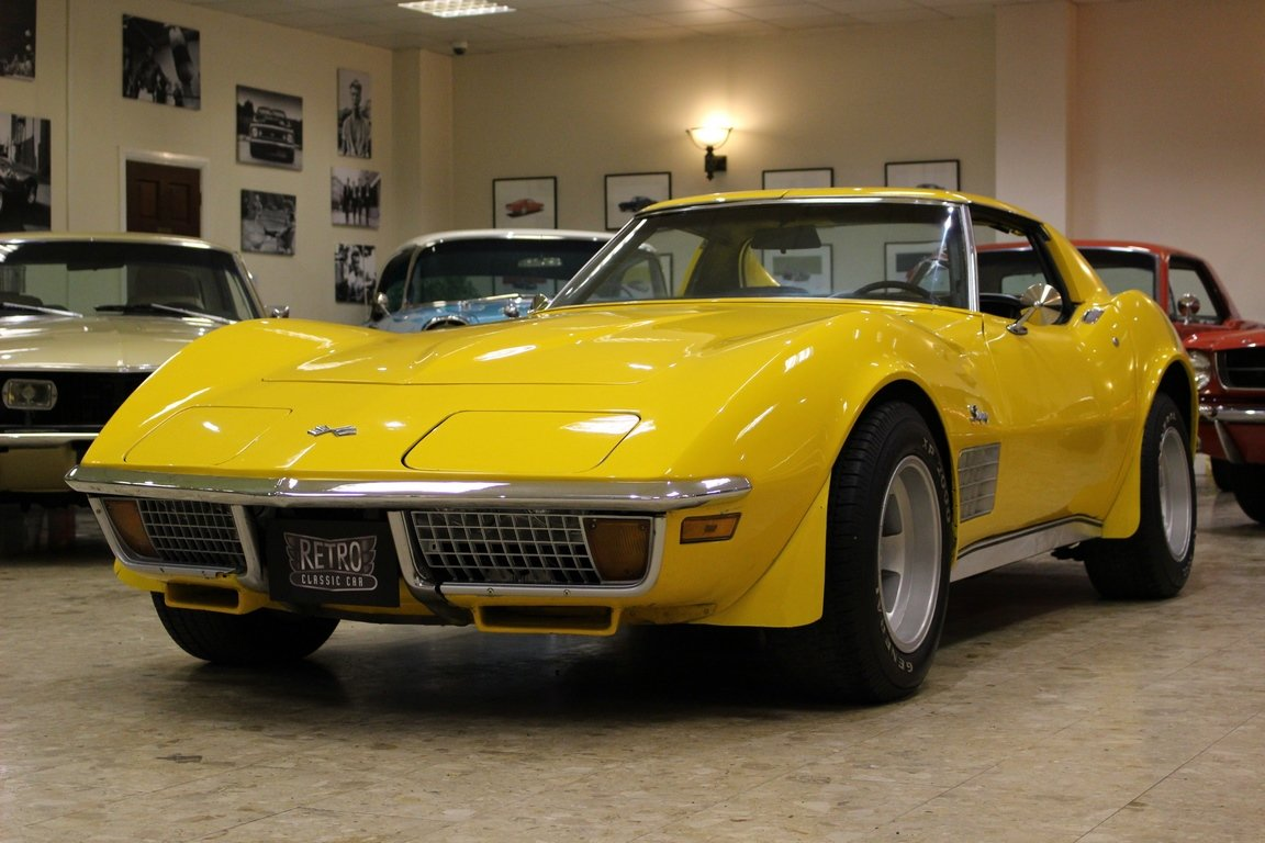 1972 Chevrolet Corvette Stingray 350 - 4-Speed Manual  SOLD (picture 2 of 6)