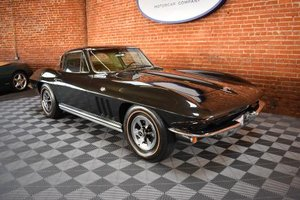 1965 Corvette Coupe = Go Green(~)Ginger 327 manual $98.5k For Sale