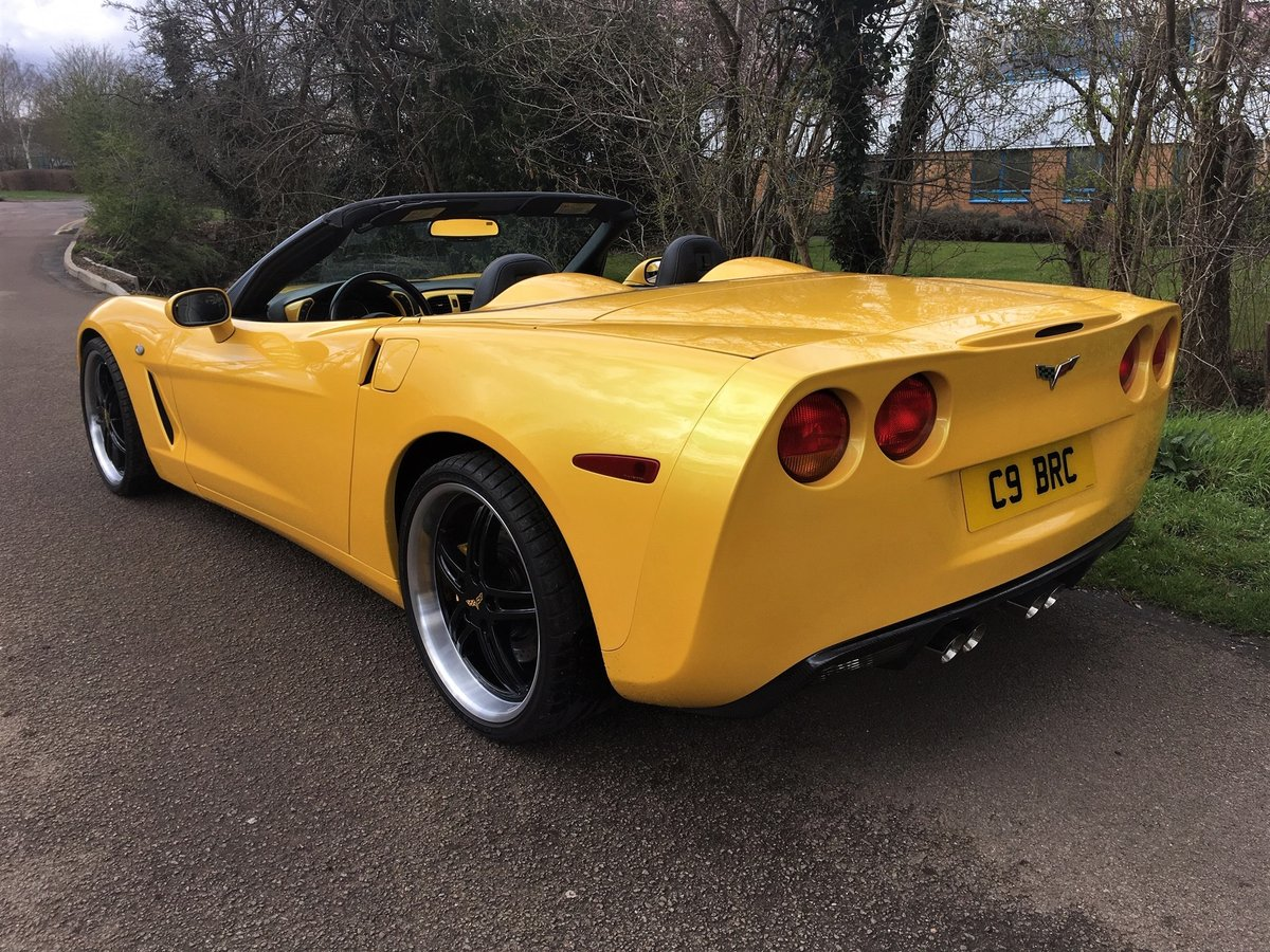 2005 CORVETTE C6 CONVERTIBLE.....SHOWCAR For Sale (picture 3 of 6)