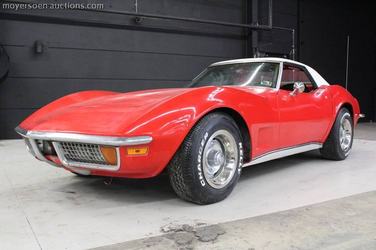 1972 CHEVROLET CORVETTE C3 For Sale by Auction (picture 1 of 5)