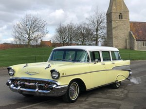 Chevrolet Bel Air station wagon-1957 Rare and Cool ! SOLD