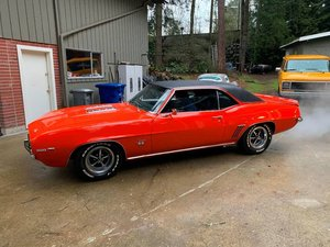 1969 Camaro Coupe = Full Restored 350 auto SS badges $38.5k For Sale