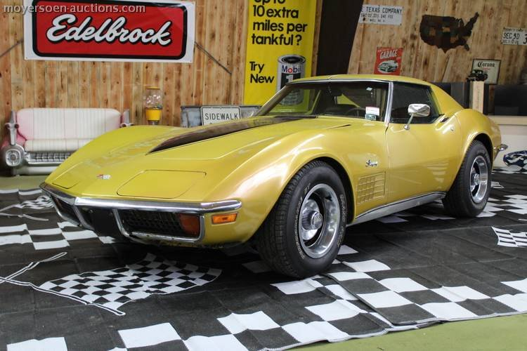 1972 CORVETTE C3 For Sale by Auction (picture 1 of 6)