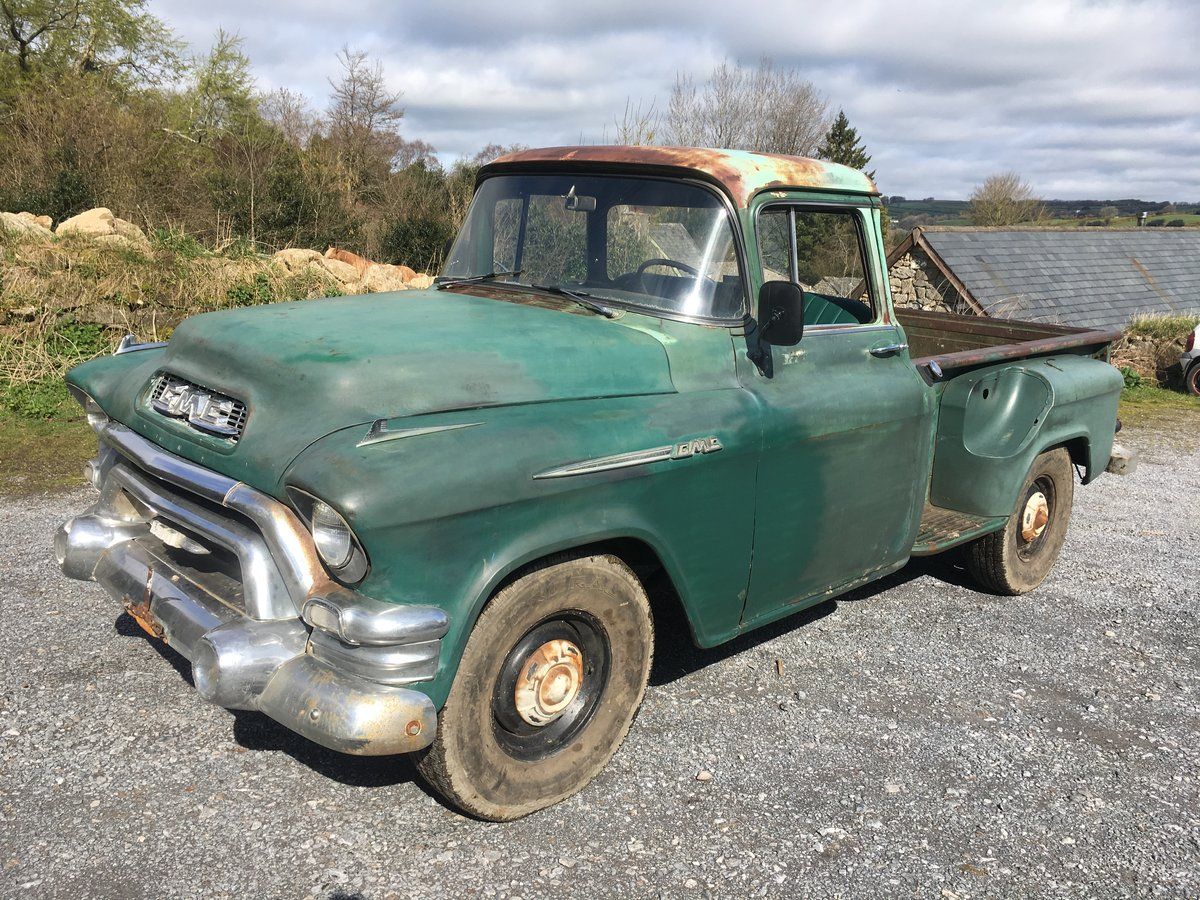 1955 pickup gmc  For Sale (picture 1 of 6)