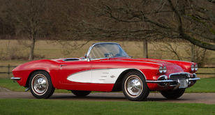 1961 CHEVROLET CORVETTE C1 ROADSTER For Sale by Auction