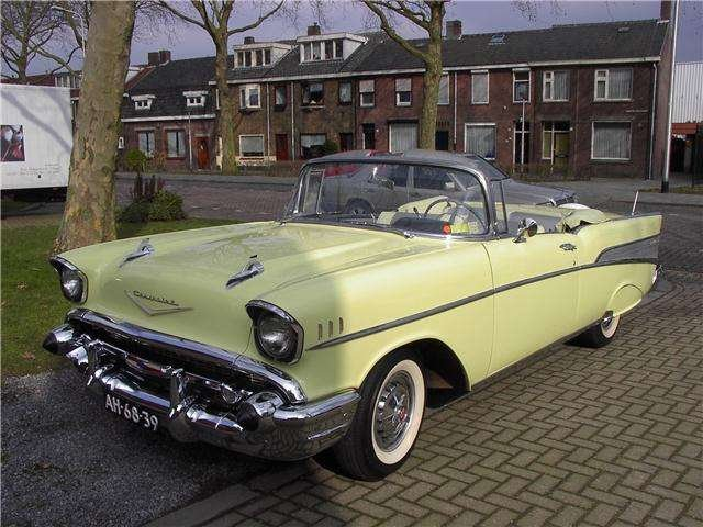 Chevrolet Bel Air Conv V 8 1957   & 50 USA Classics For Sale (picture 3 of 6)