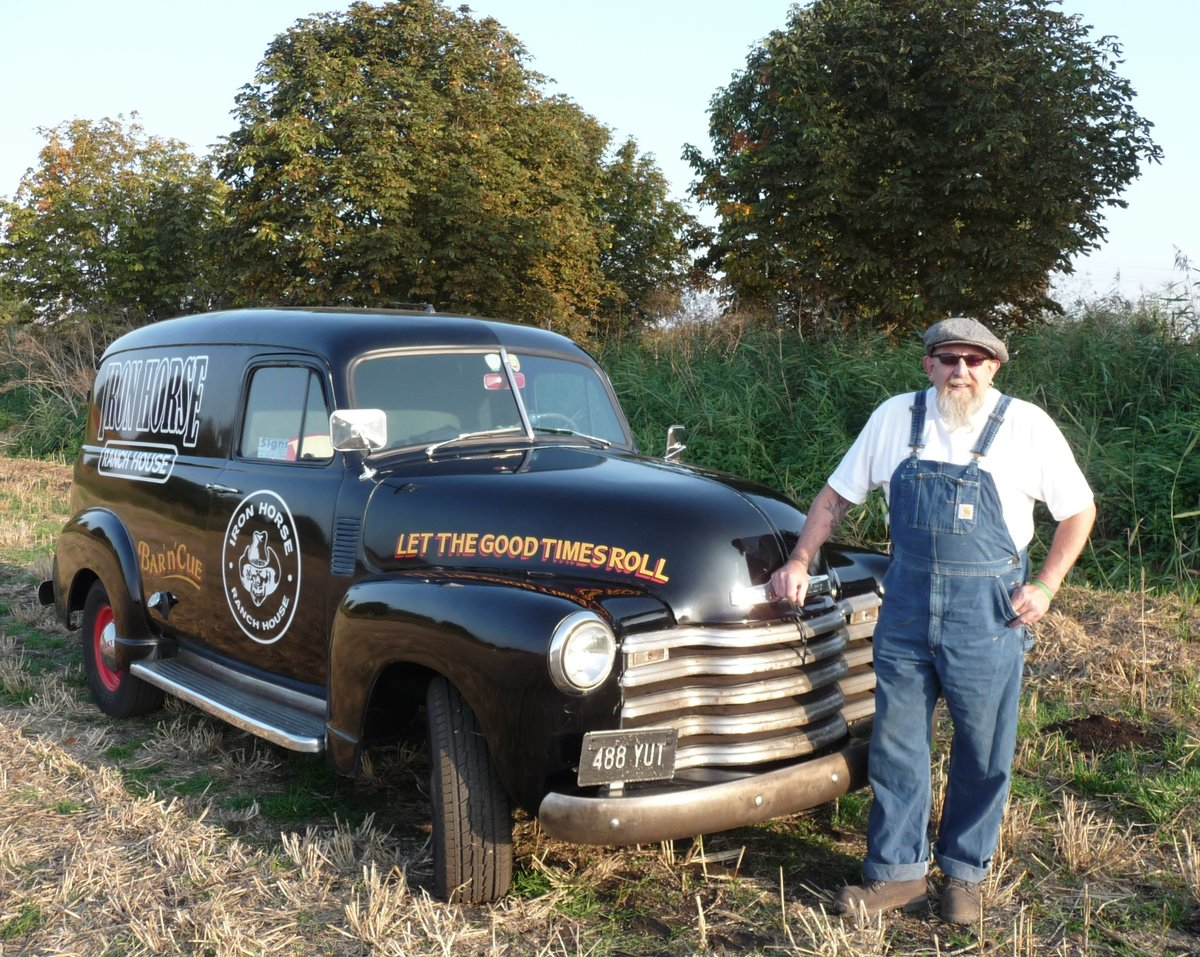1953 Historic American Panel Van For Sale (picture 1 of 6)