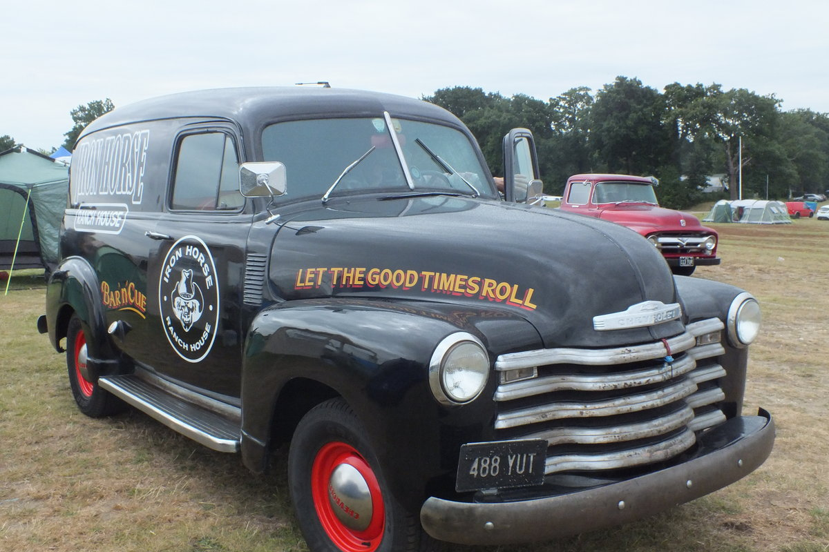 1953 Historic American Panel Van For Sale (picture 3 of 6)